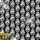 Shiny Dimond Eggs Background Loop - With Lights