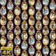 Golden Dimond Eggs Background Loop