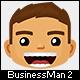 Business Man Mascot 2