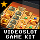 Videoslot Graphics Game Kit - Cleo's Gold