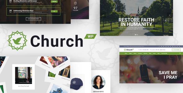 ChurchWP - Church, Religion, Sermons & Donations WordPress Theme
