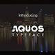 Aquos Typeface