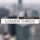 8 Minimal Lower Thirds