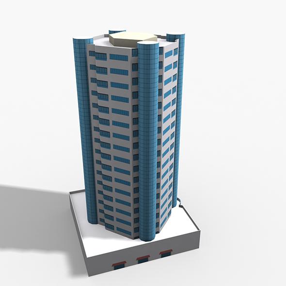 Al Durrah Tower - 3DOcean Item for Sale