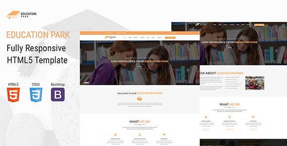 EducationPark - Education & University HTML Template