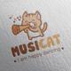 Music Cat Logo