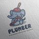 Plumber Elephant Logo