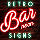 Retro Bar Neon Signs