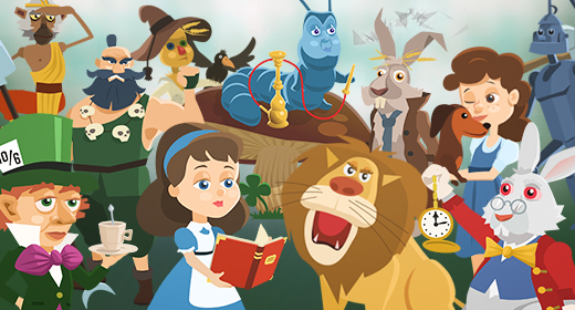 Cartoon Fairy Tales Characters Pack