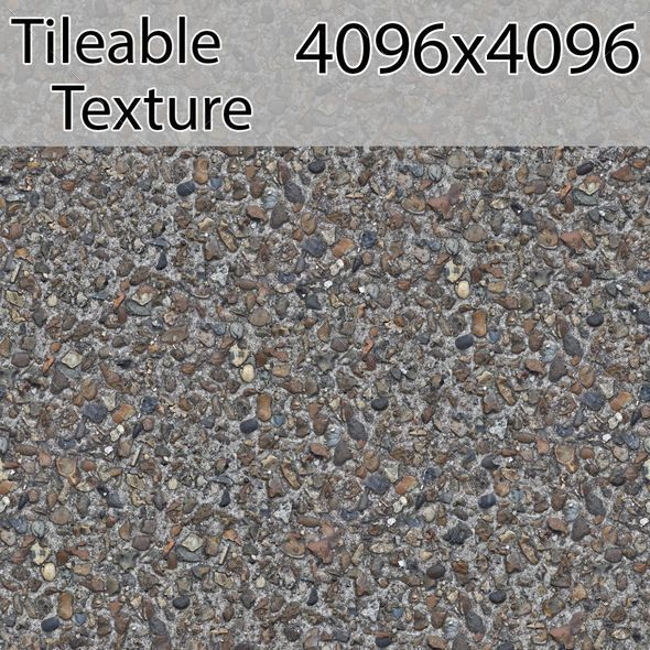 gravel-00233-armrend.com-texture - 3DOcean Item for Sale