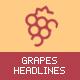 grapesHeadlines - Animated Headers