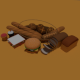 Low poly Food pack