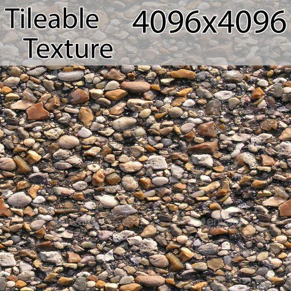 gravel-00303-armrend.com-texture - 3DOcean Item for Sale