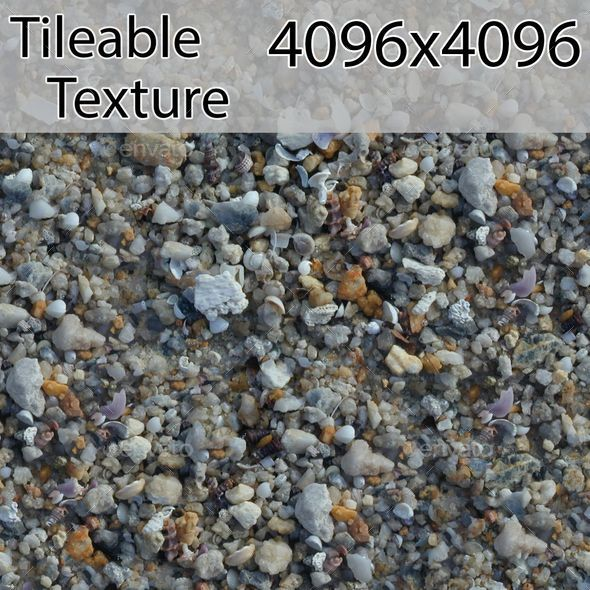 gravel-00315-armrend.com-texture - 3DOcean Item for Sale