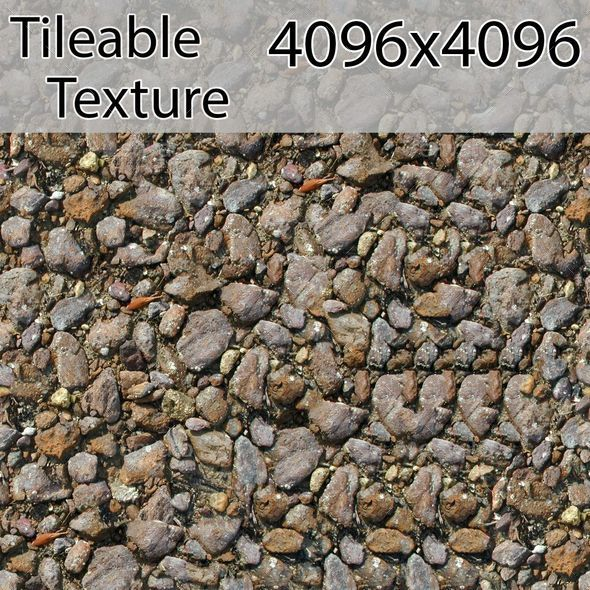 gravel-00316-armrend.com-texture - 3DOcean Item for Sale