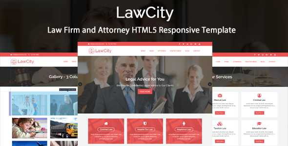 Download LawCity - Law Firm and Attorney HTML5 Responsive Template