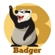 ABC Cartoon Badger