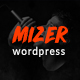 Mizer - Musicians, Deejays, Singers, Bands WordPress Theme