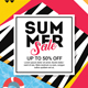 Summer Sale Flyer Poster