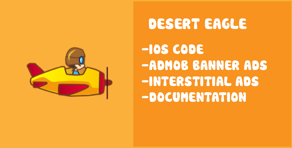 CodeCanyon Desert Eagle Game Template for IOS 19743426
