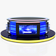 Virtual Tv Studio News Desk 12