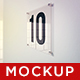 10 Glass Plate Mockups