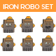 Iron Robot Set