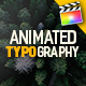 Download FCPX Animated Typography Titles from VideHive