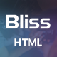 Bliss - Bootstrap Landing Page HTML Template