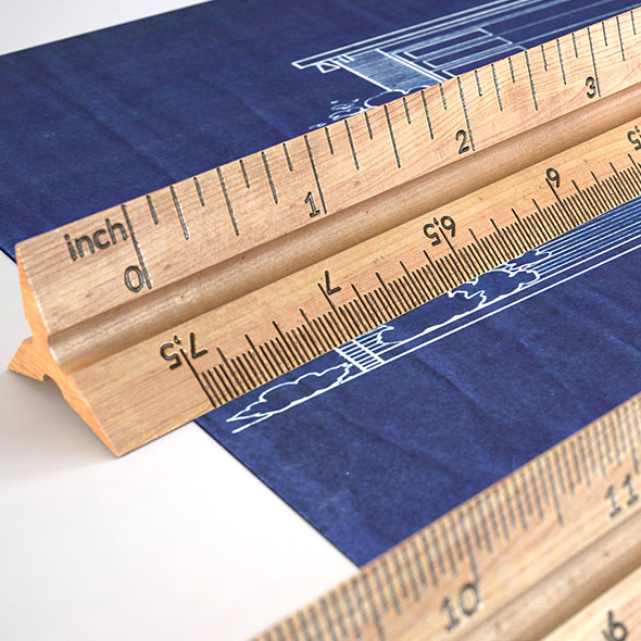 3DOcean HD Wooden Ruler 6 real scale 19747066