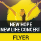 New Hope New Life Concert Flyer