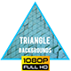 Animated Triangle Background Looped 2