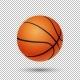 Vector Realistic Basketball