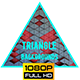 Animated Triangle Background Looped 6