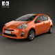 Toyota Prius C with HQ interior 2012
