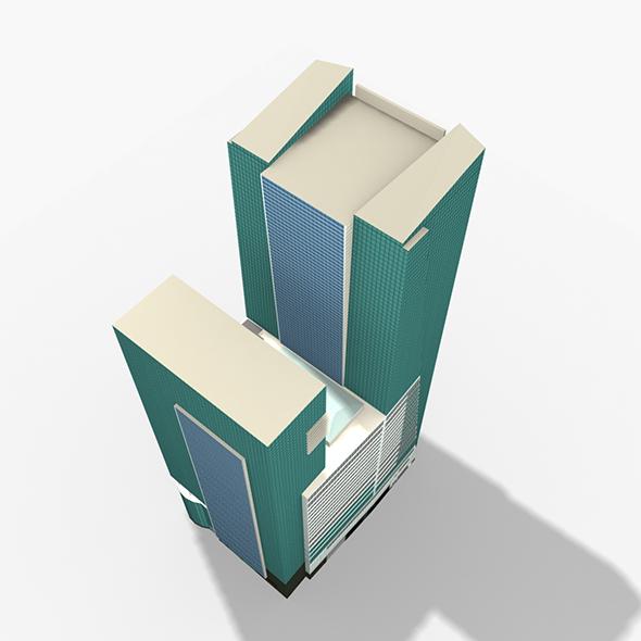 Wells Fargo Center Miami - 3DOcean Item for Sale