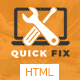 QuickFix | Multipurpose Servicing and Repairing HTML Template (Computer)