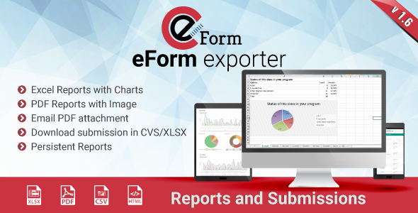 Exporter for eForm - Reports & Submissions - CodeCanyon Item for Sale