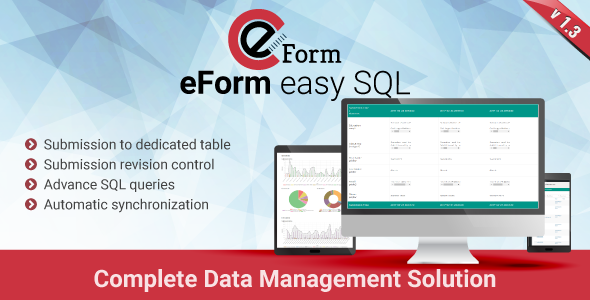 eForm Easy SQL - Submission to DB & Revision Control - CodeCanyon Item for Sale