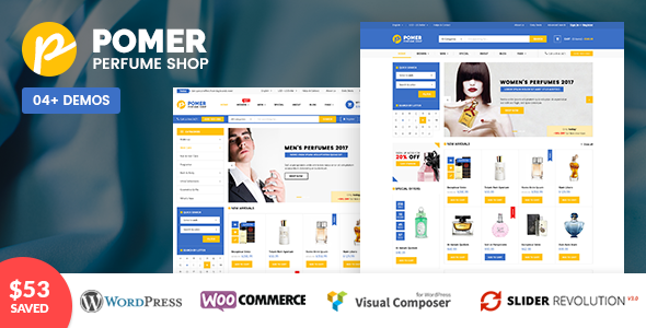 VG Pomer – Perfume Retailer WooCommerce WordPress Theme (WooCommerce)
