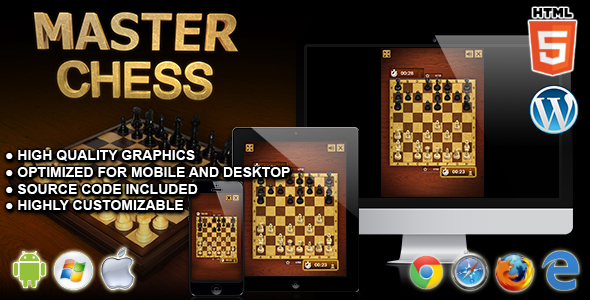 Download Master Chess - HTML5 Board Game