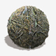 Wet Forest Twigs Seamless Texture