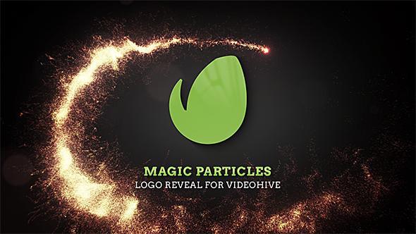 Magic Particles Logo Reveal