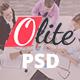 Olite Multipurpose PSD Template