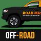 Toyota Hilux Off-Road Pick-Up MockUp