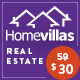 Home Villas - перспективная тема недвижимости на WordPress