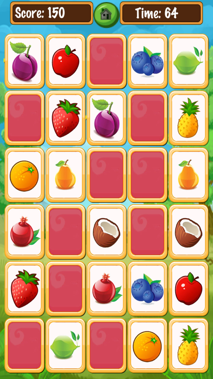 memory card match unity game template for android ios 11 card