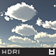 High Resolution Sky HDRi Map 029