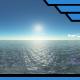 Ocean Blue Clouds 14 - HDRI