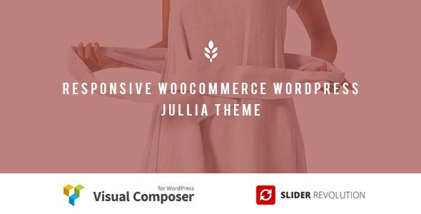 Julia - Responsive WooCommerce WordPress Theme